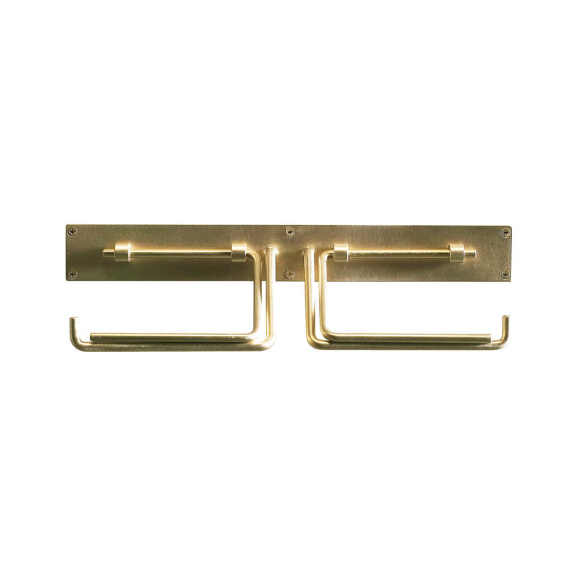 Paper Holder Brass double 次回8月ごろ入荷予定