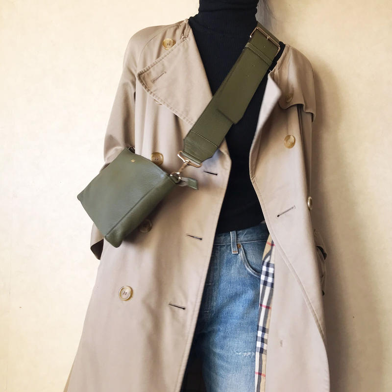 [ widebelt shoulderbag ]全3色