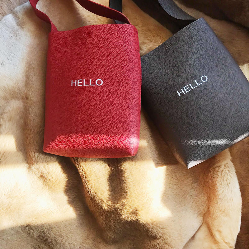 HELLO  logo [ dhuta bag ] 全2色
