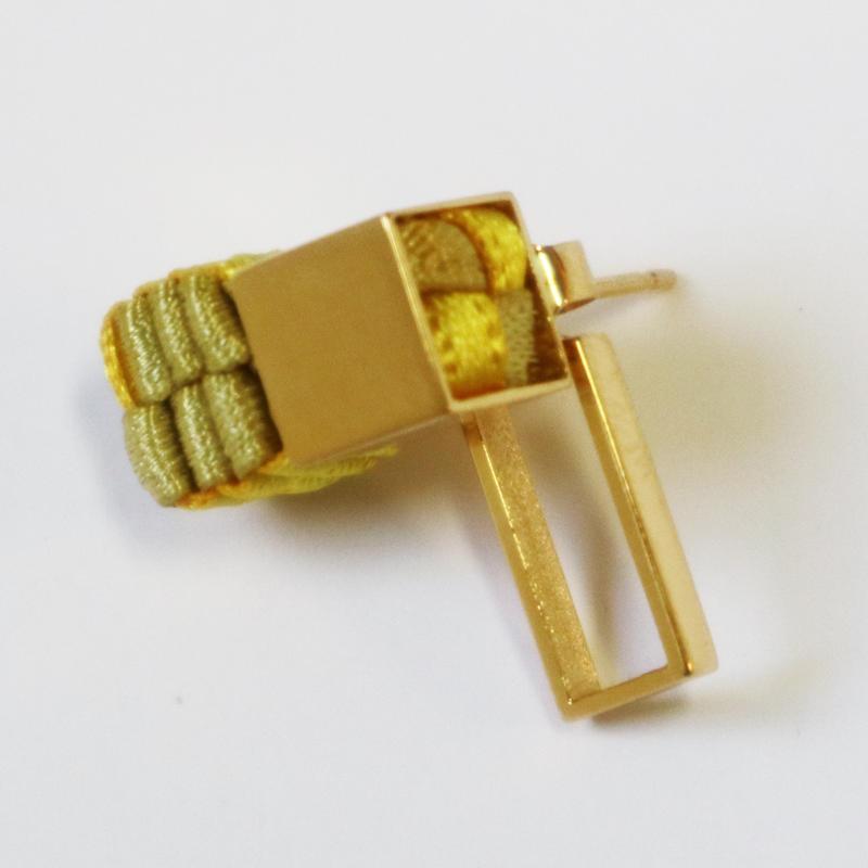 Cube / Pierced Earring Gold ピアス