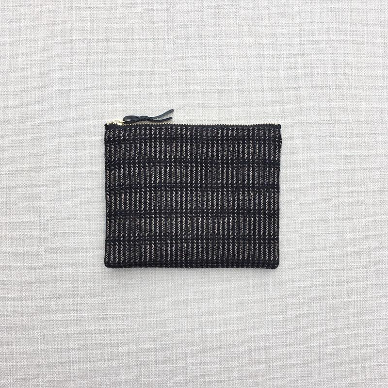 手織りのミニポーチ ( Accessory case  alinea)