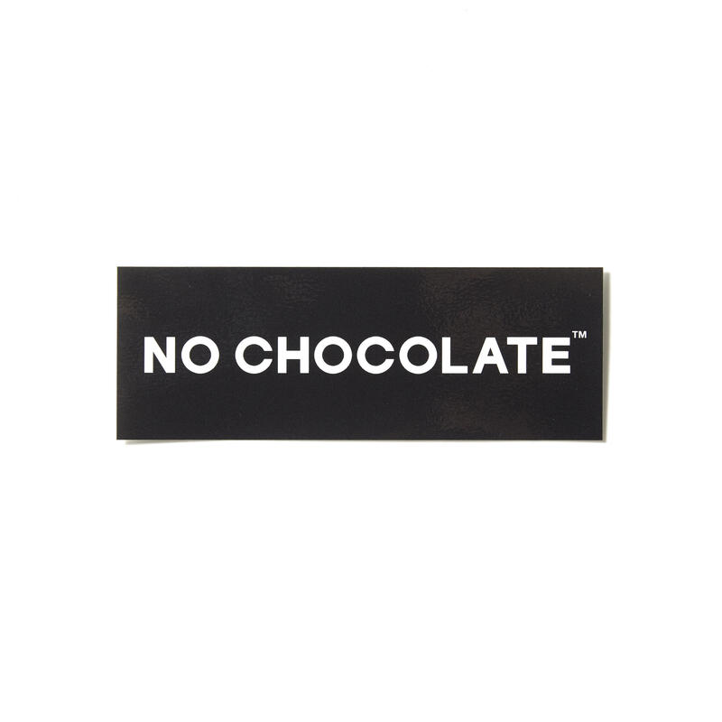 NO COFFEE × CHOCOLATE ステッカー