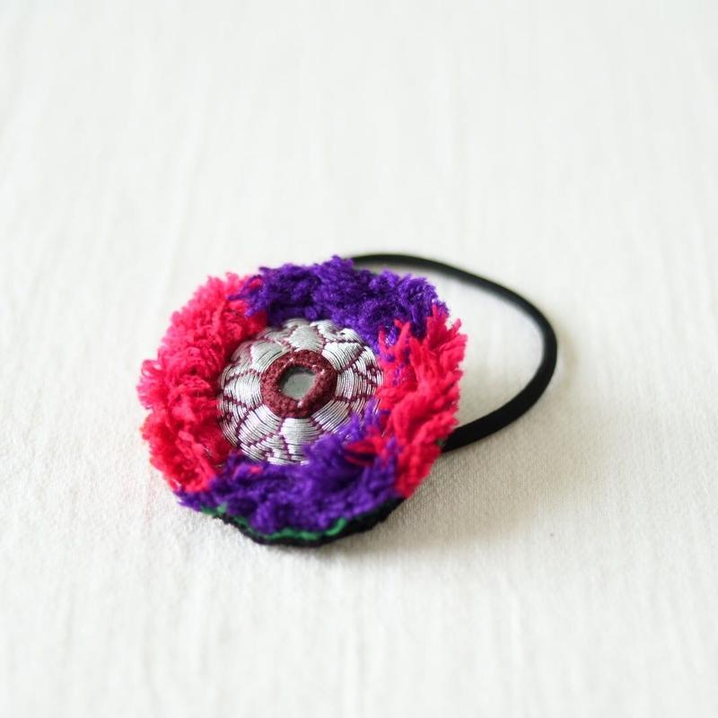 アフガニスタン 刺繍髪留め(c)