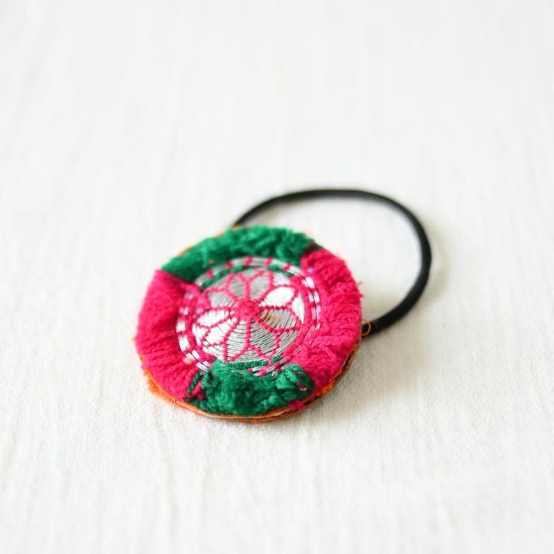 アフガニスタン 刺繍髪留め(d)