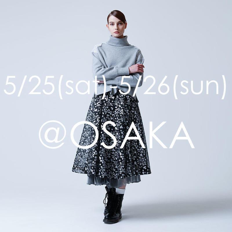 2019A/W  展示会ご来場受付  @OSAKA
