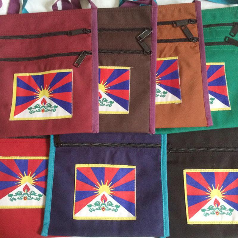 Tibet ポシェット(チベタンフラッグ)