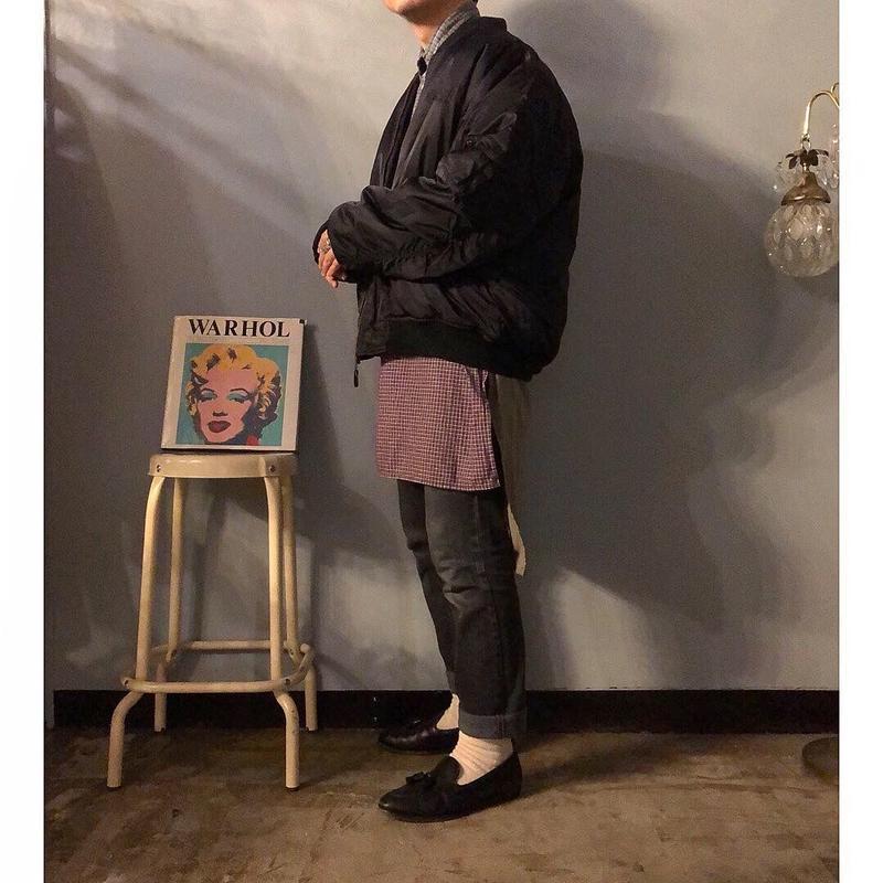 1990's~ リバーシブル MA-1 ジャケット / 古着 ビンテージ