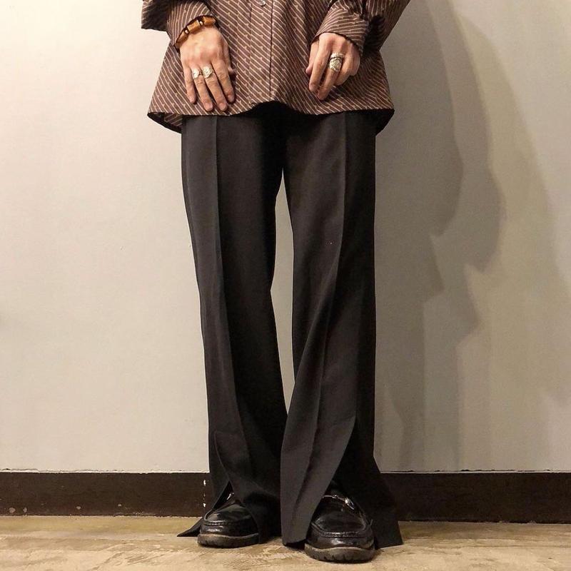 イタリア製 D&G ドルチェ&ガッバーナ スリットデザイン スラックス / 古着 ビンテージ