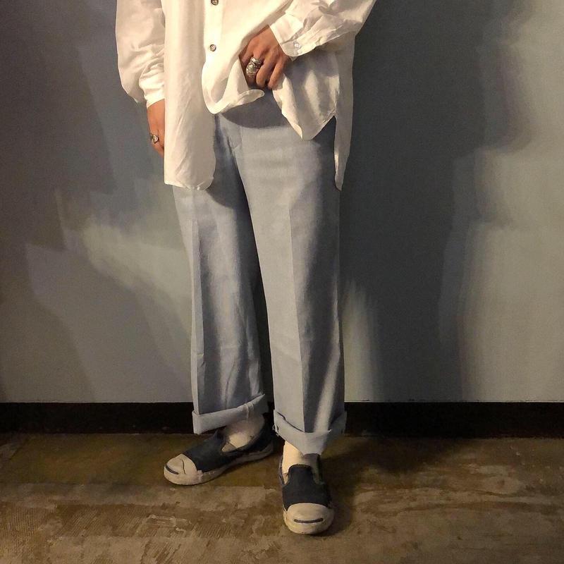 1970's~ USA製 センタープレス入り パンツ / 古着 ビンテージ