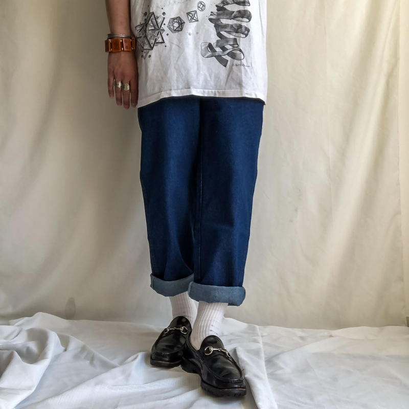 "NOS 1990's~ ""RUSTLER"" store  brand denim pants"