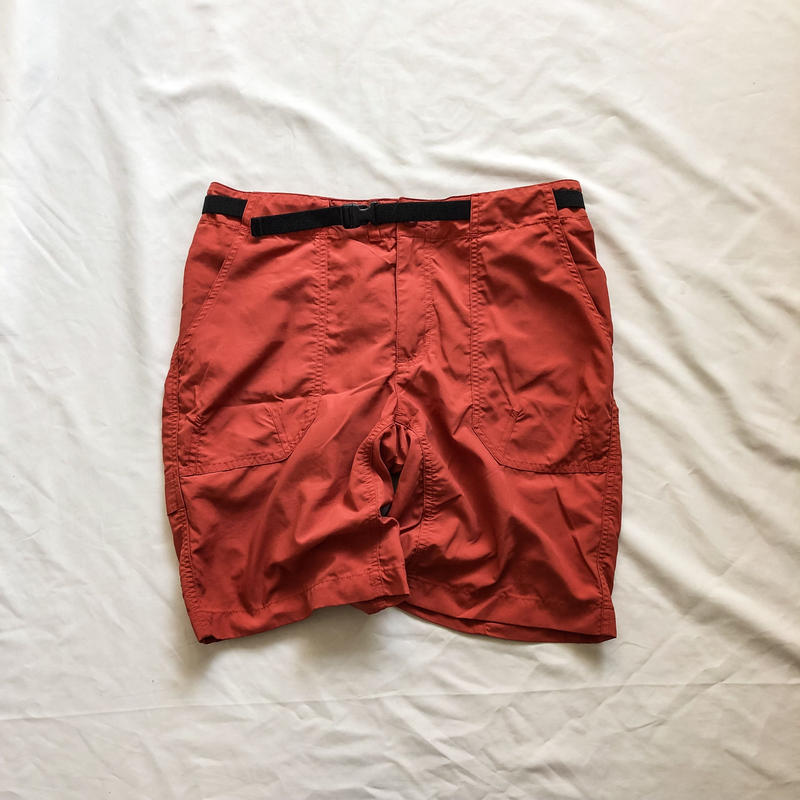 patagonia terracotta color nylon shorts