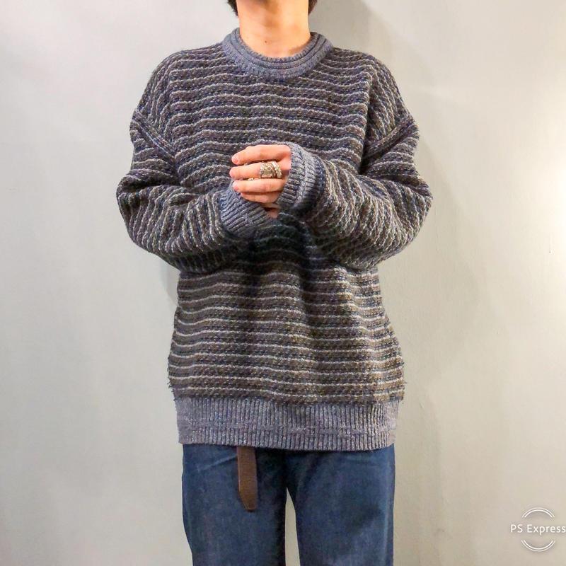 イタリア製 総柄 デザイン セーター / 古着 ビンテージ