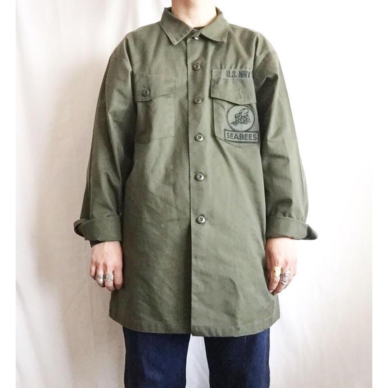 70's~80's US ARMY ユーティリティ シャツ/古着 ビンテージ