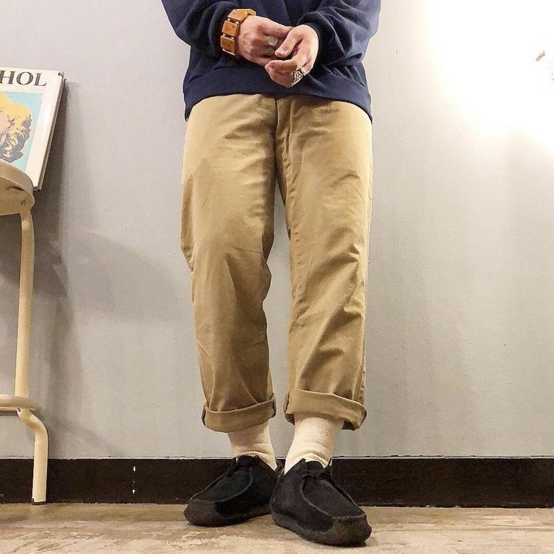Polo Ralph Lauren ポロラルフローレン コットン チノパンツ / 古着 ビンテージ
