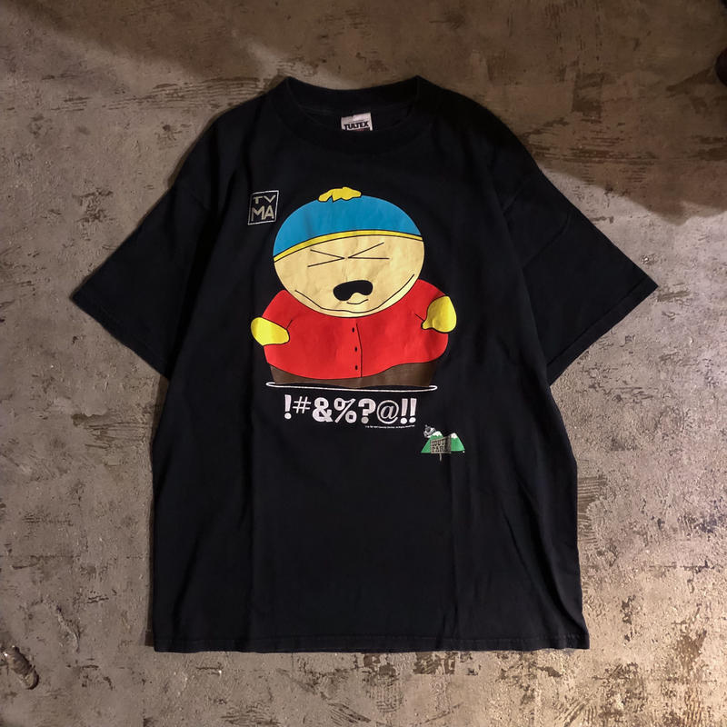 1990's USA製 ブラック South Park サウスパーク Tシャツ / 古着 ビンテージ