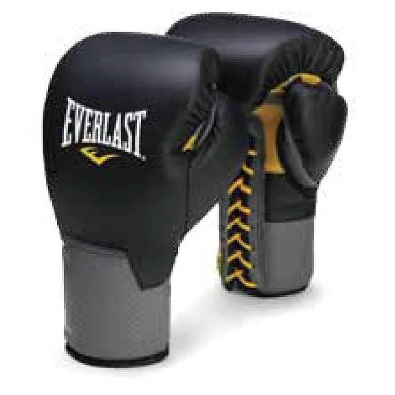 C3 PRO LACED LEATHER TRAINING GLOVES(BLACK)