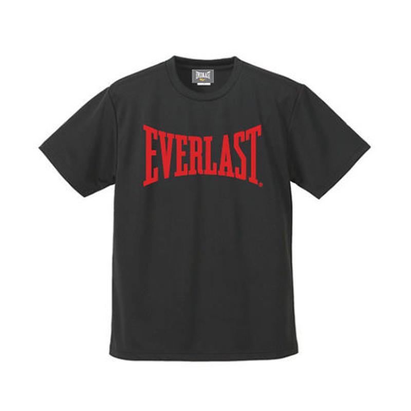 ビッグロゴドライTシャツ (BLACK×RED)