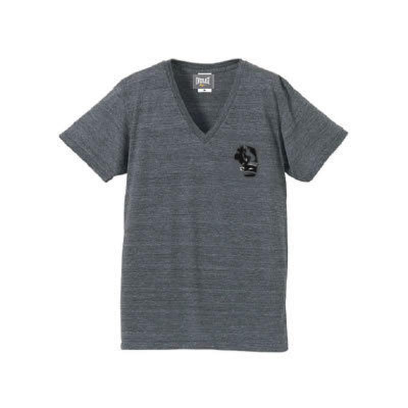 VネックTシャツ (GRAY)