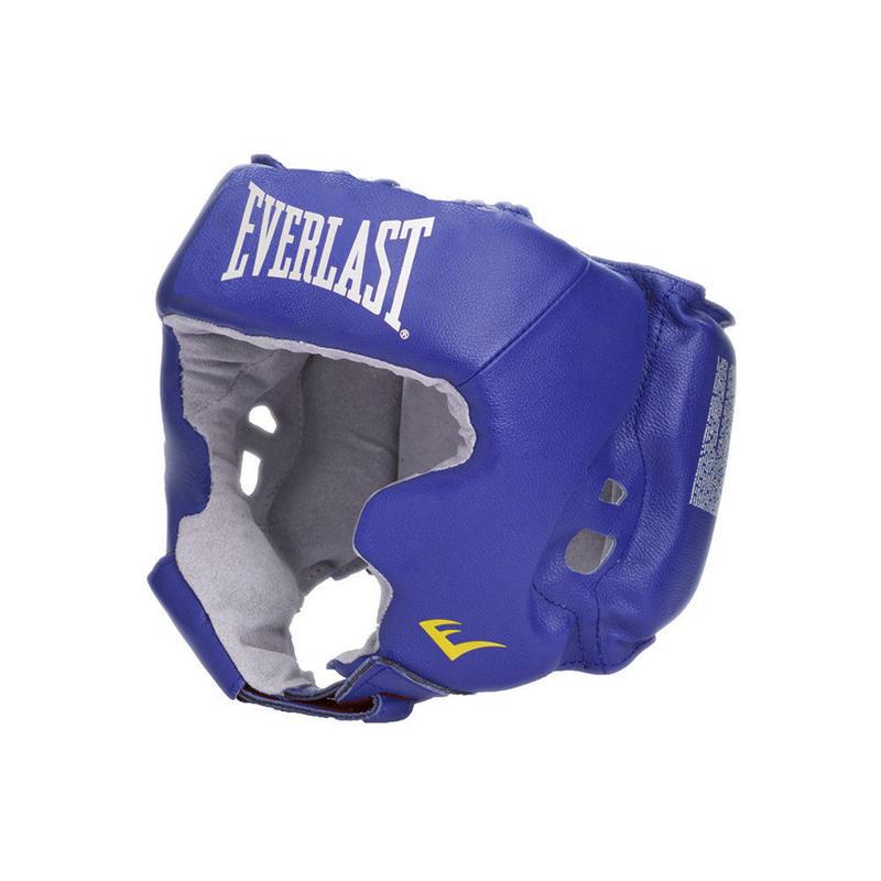 ヘッドギア Amateur Head Gear with cheek protection(BLUE)