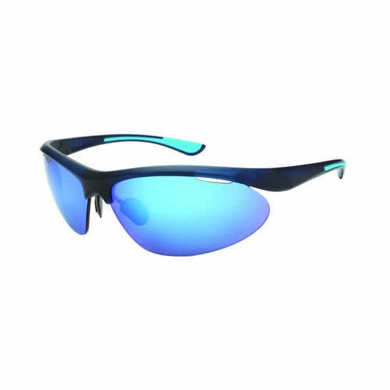 EVERLASTスポーツサングラス(偏光レンズ)ミラーNV×BL EL-003-01