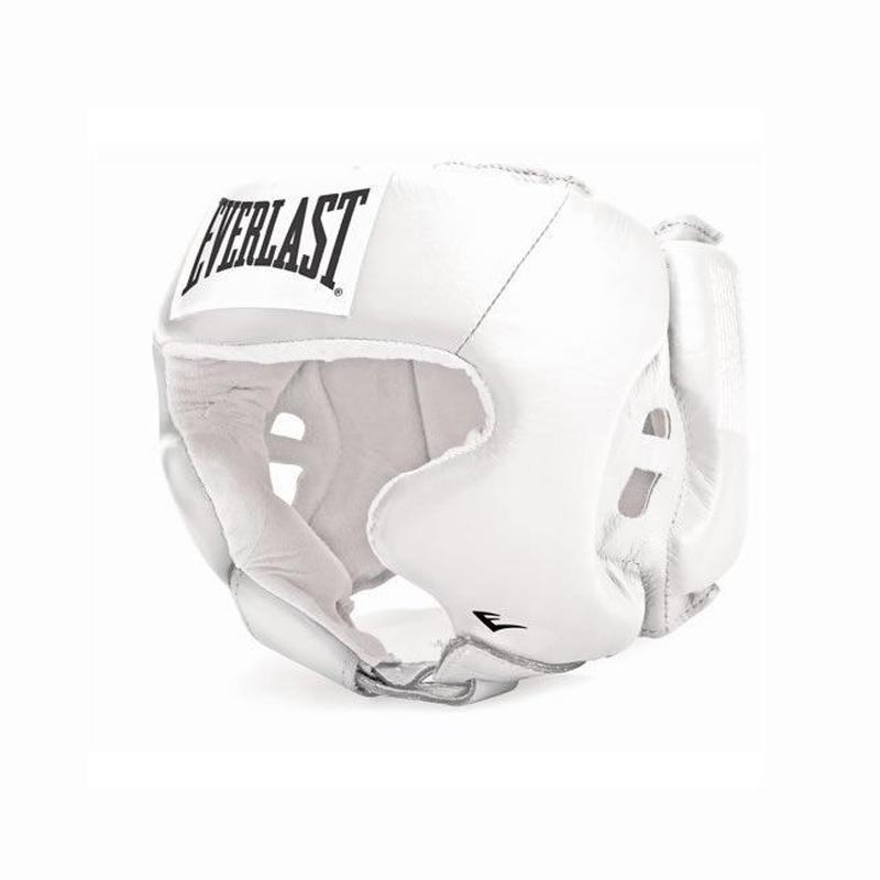 ヘッドギア Amateur Head Gear with cheek protection(WHITE)