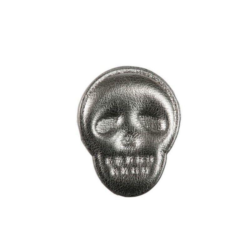 Art A80 hairclip Skull in grey