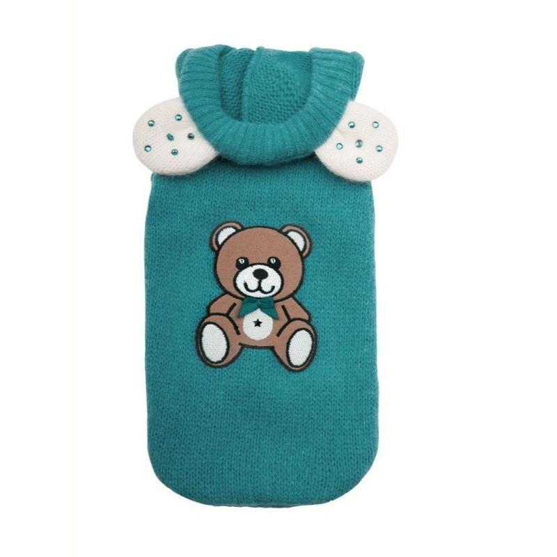 Sweatshirt TEDDYBEAR petroleum
