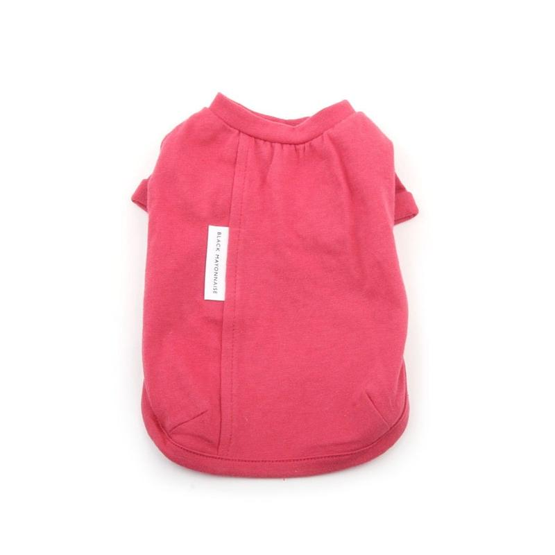 White Label Cotton Tee Coral
