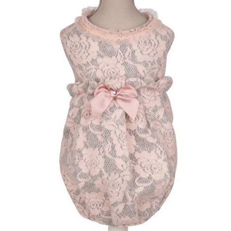 Dress ROSALIE grey/rose