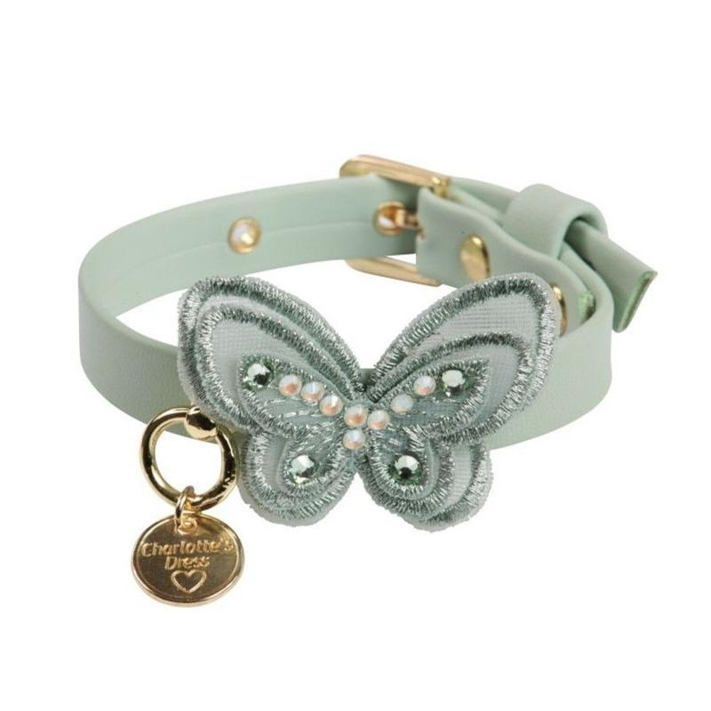 Art f1440NCollar Sweet Butterfly acquamarine