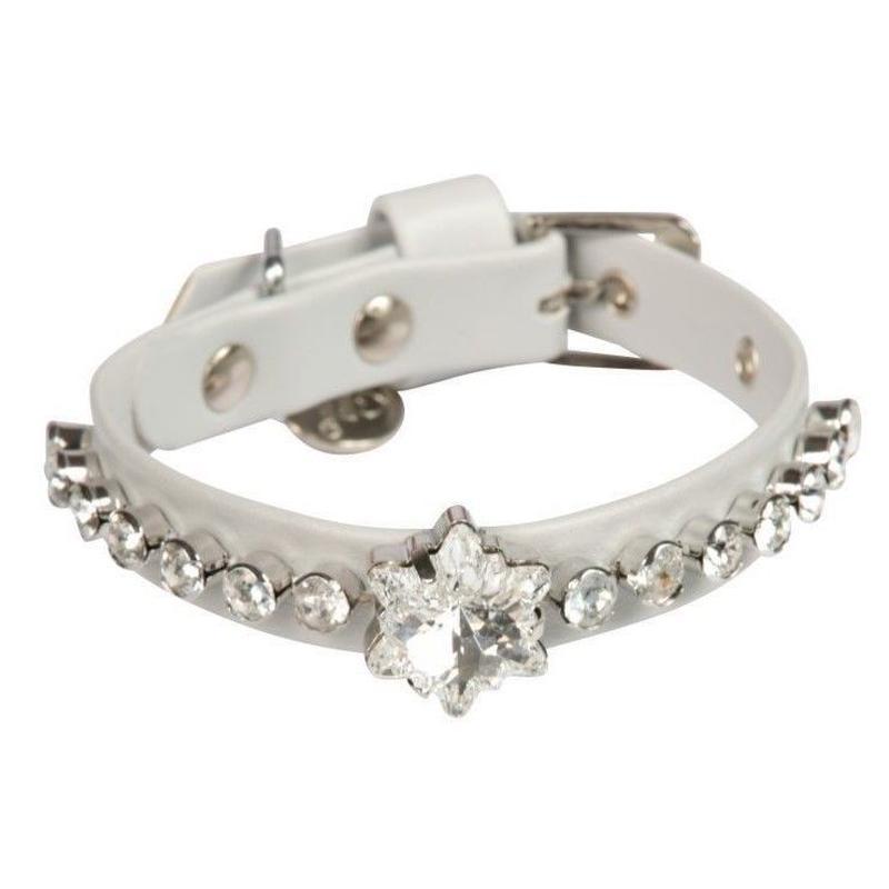 art f1397 collar Edelweiss-pearl gray