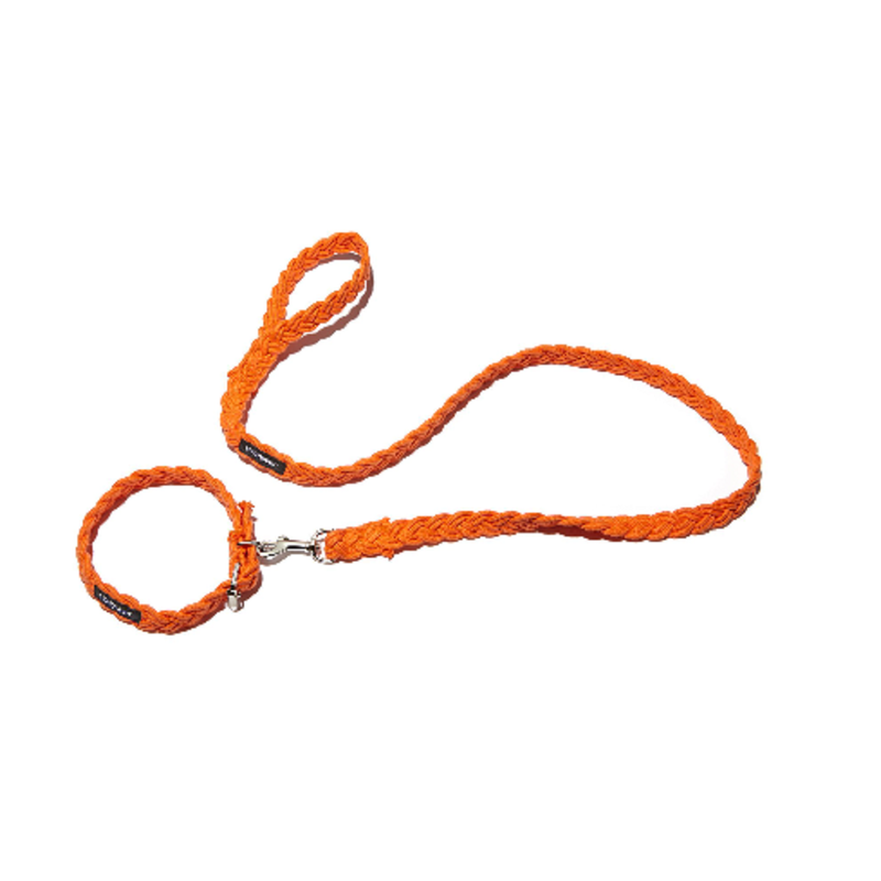 Braided Fisherman Collar_Orange