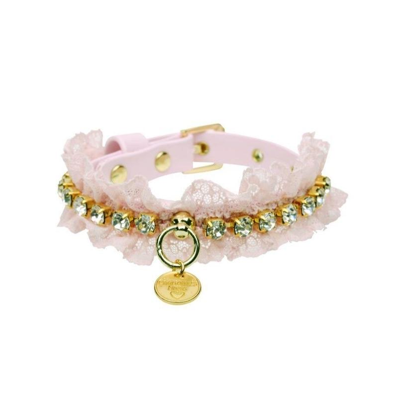 COLLAR  ''COLINE''  BABY ROSE
