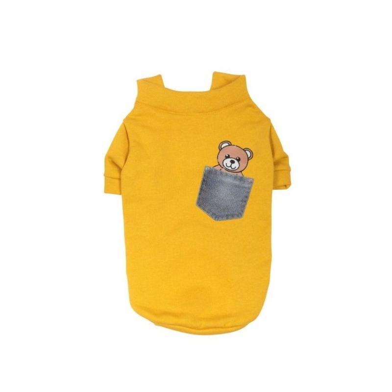 Art 3091 sweater Sweet bears-ochre
