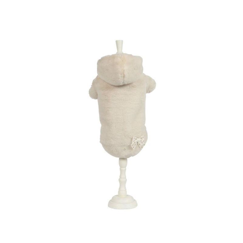 Art 1068 coat Eco-fur Zelda-cream