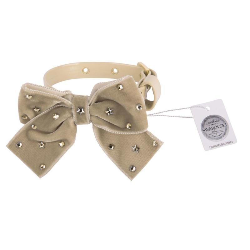 Collar 1.2cm SPARKLING STAR biscuit