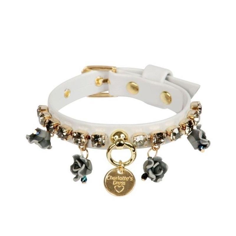 Art f1452 collar Cherie-pearl gray