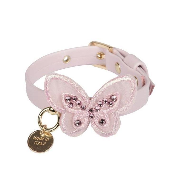 Art f1440N Collar sweet Butterfly baby rose nappa