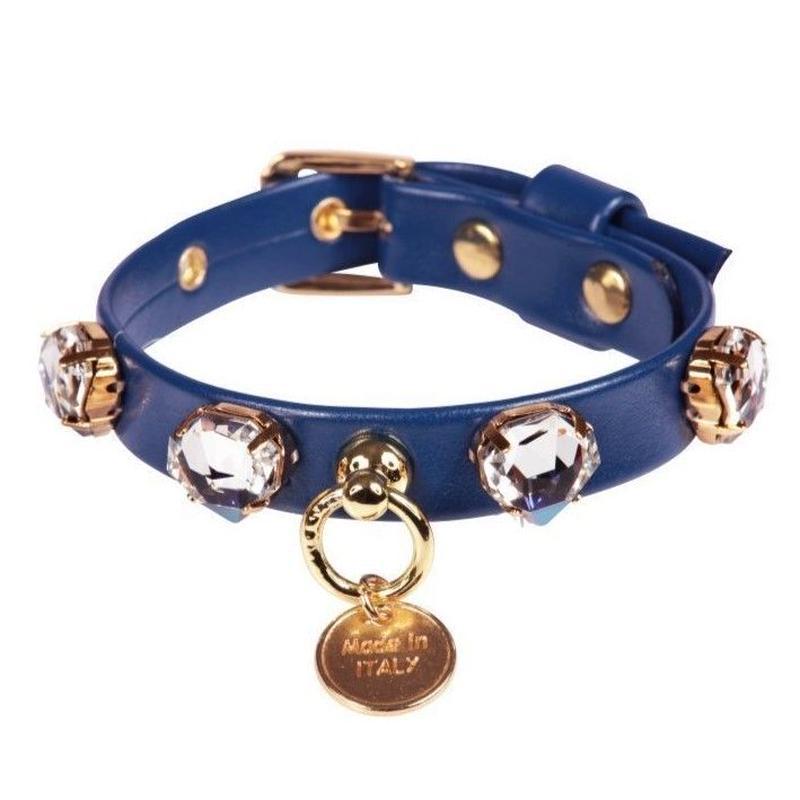 Art f1450N collar Diamond diamond-cobalt bule