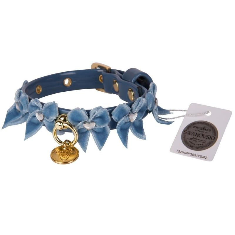 Collar 1.2cm LIUBA teal