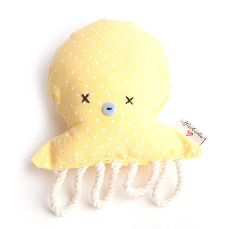 Octopus toy Yellow