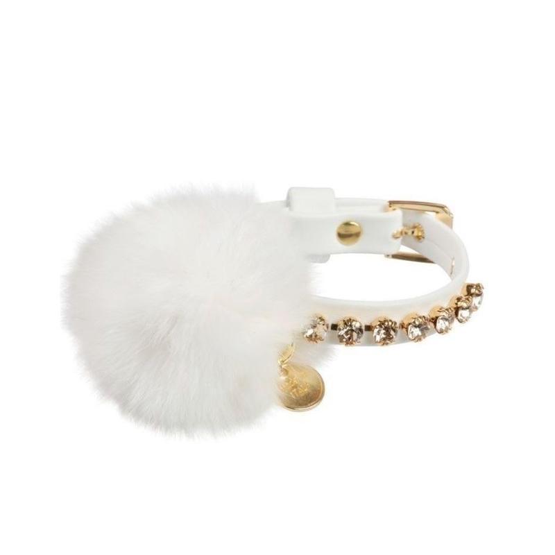 Art f1458 collar Bijoux-white