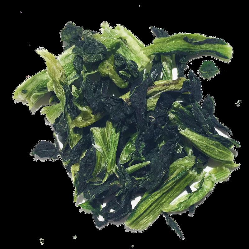 国産無添加フリーズドライ野菜 大根菜