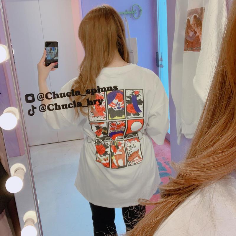 ビックTシャツ(花札)