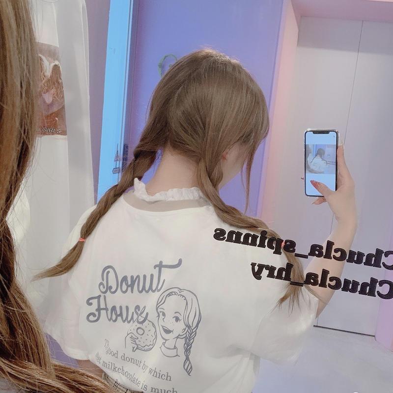ドーナツガールTシャツ