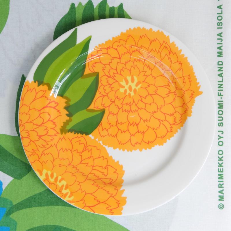 イッタラ Iittala × マリメッコ marimekko <Primavera>プレート(オレンジ)