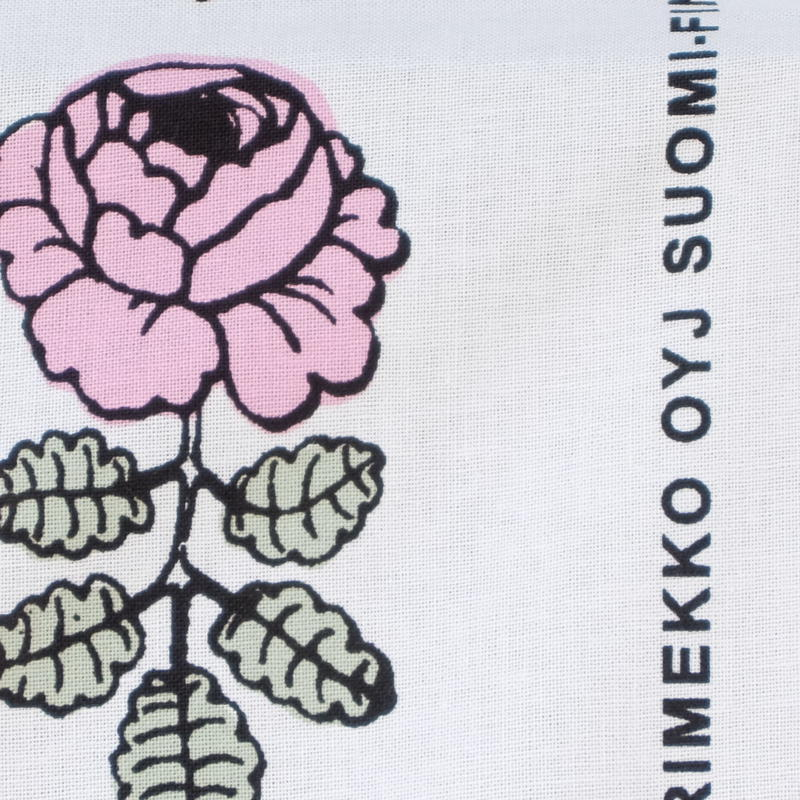 マリメッコ marimekko <Vihkiruusu>ファブリック(ピンク)50cm