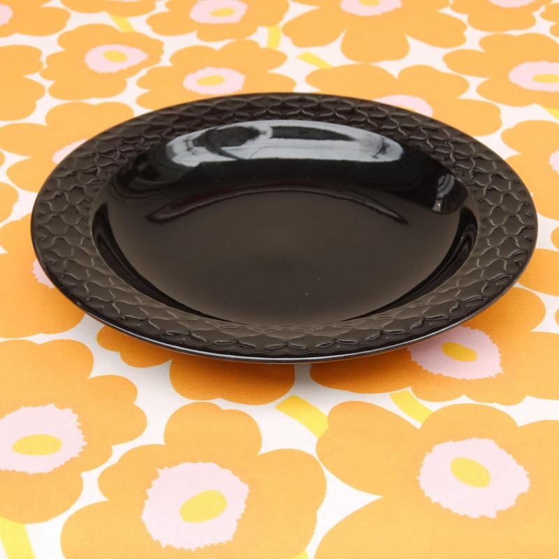 ビング・オー・グレンダール Bing&Grondahl コーディアル・パレット スープ皿(ブラック)