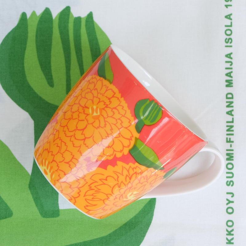 イッタラ Iittala × マリメッコ marimekko <Primavera>マグカップ(オレンジ)レアカラー
