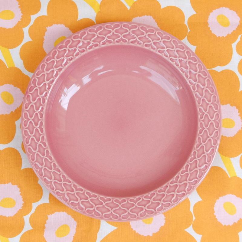 ビング・オー・グレンダール Bing&Grondahl コーディアル・パレット スープ皿(ピンク)